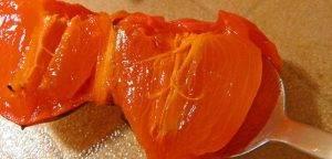 Салат с заправкой из хурмы - 0