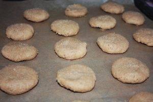 Овсяное печенье с миндалем - 0