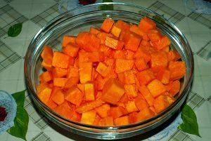 Тыквенный суп с креветками - 0