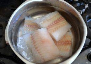Рыбный салат из минтая - 2
