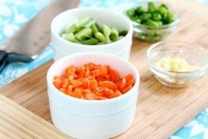 Жареный рис с креветками - 1