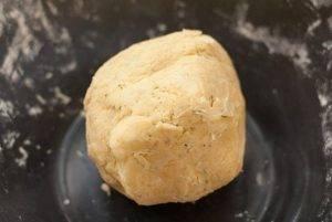 Сырное печенье с травами - 1