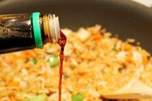 Жареный рис с креветками - 2