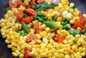 Рис с овощами - 1