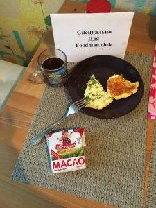 Сырная лепешка на завтрак - 10
