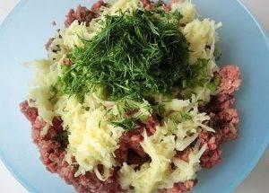 Котлеты из говядины с картофелем - 1