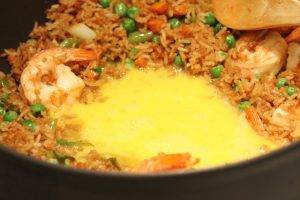 Жареный рис с креветками - 3