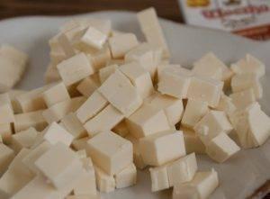 Сырный суп-пюре с куриной грудкой и овсянкой - 1