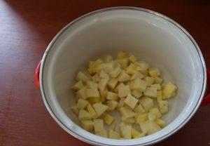 Сливочный суп с семгой - 0