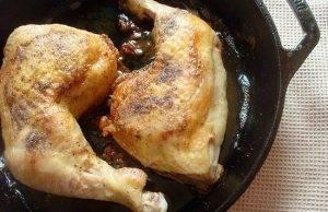 Куриные окорочка в сливочном соусе - 0