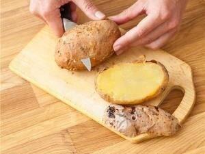 Картофель, запеченный с овощами - 0