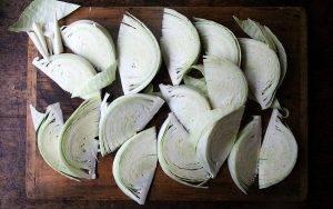 Запеченная курица с капустой - 0
