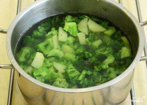 Быстрый суп-пюре из брокколи - 0