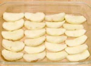Запеченный эскалоп с яблоками - 0