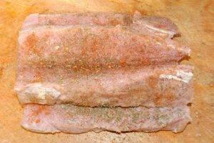 Свиная корейка с тыквой в духовке - 0