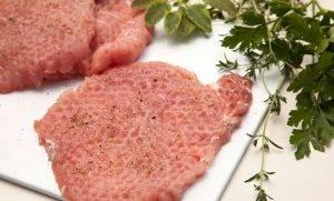 Свиные отбивные в сырной панировке - 0