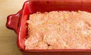 Запеканка из свиного фарша в духовке - 0