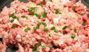 Фаршированный картофель со свининой в духовке - 0