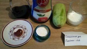 Кабачки с соусом из тахины - 0