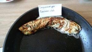 Омлет с грибами и болгарским перцем - 4