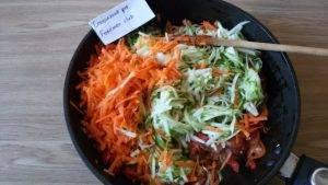 Вегетарианский суп с кабачками - 7