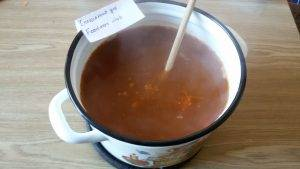 Вегетарианский суп с кабачками - 11