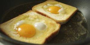 Яичница в хлебе - 0
