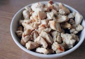 Сытный салат с куриной грудкой - 0