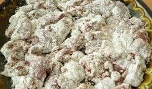 Печень в кисло-сладком соусе - 1