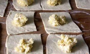 Тортеллини с сырной начинкой - 0