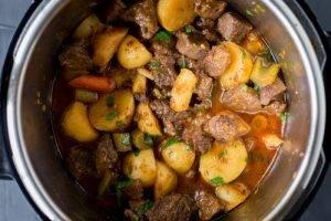 Жаркое из свинины с картошкой - 1