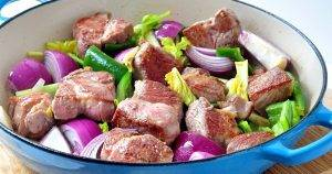 Рагу из свинины с картофелем в духовке - 1