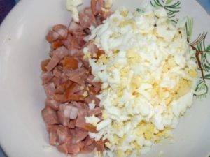 Легкий салат из винограда и сыра - 0