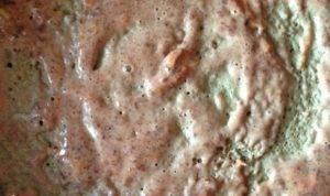 Праздничный печеночный торт с яблочным кремом - 0