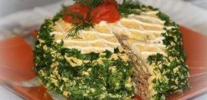 Печёночный тортик - 1