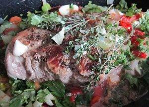 Тушеная говядина с овощами - 2