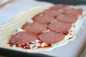 Стромболи (пицца-рулет) - 1