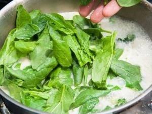 Суп-пюре из брокколи и шпината - 2