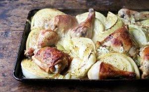 Запеченная курица с капустой - 2