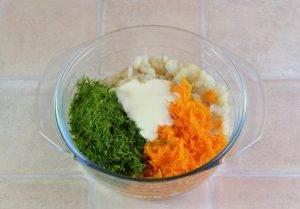 Рыбный салат из минтая - 4