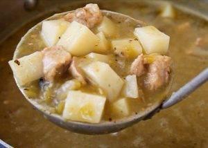 Тушеная свинина с картошкой - 2