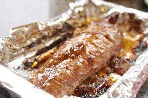 Свиная вырезка с горчицей и джемом в духовке - 2