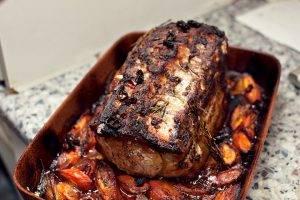 Свиная корейка, запеченная в духовке - 2