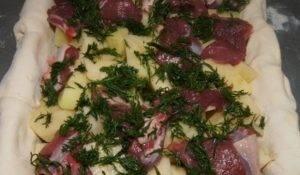 Мясной пирог с бараниной - 2