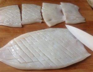 Кальмары гриль - 1