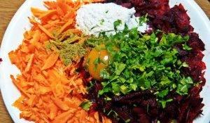 Печенка в овощной оболочке - 2