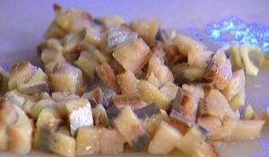 Селедочное масло с горчицей и тархуном - 0