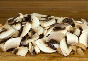 Запеченная картошечка с грибами в духовке - 0