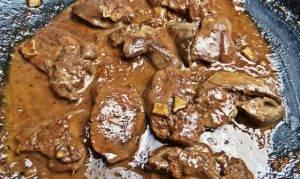 Сливочная печенка с рисом по-японски - 2