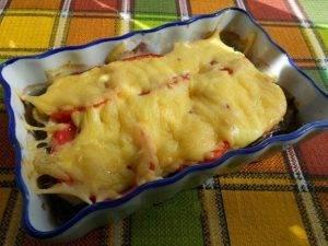 Куриное филе с баклажанами в духовке - 4